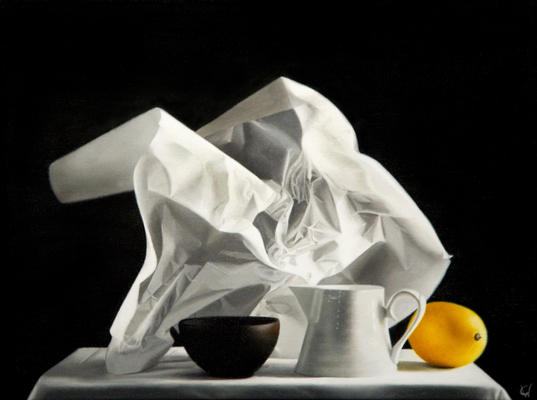 Wax Paper and Lemon