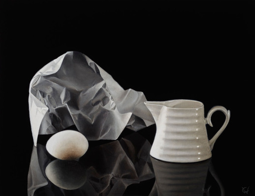 Wax Paper and Jug